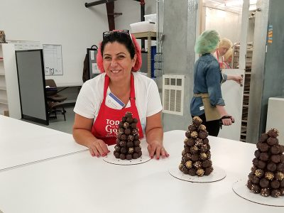 chocolate truffle trees